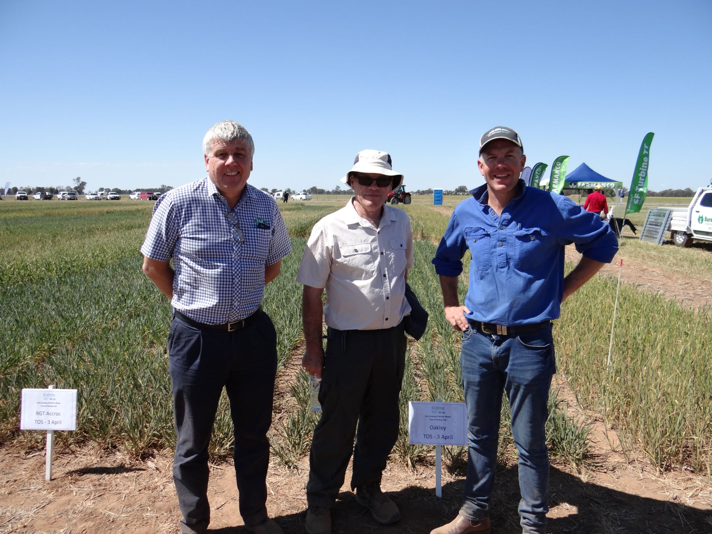 Nick Poole Eric Watson Ian Trevethan 2 - Riverine Plains